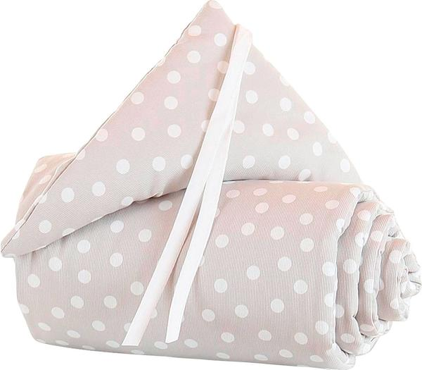 Babybay Nestchen Maxi/Boxspring Organic Cotton - braun Punkte weiß (160816)