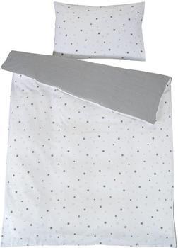 Schardt Bettwäsche 100x135 cm - Sternchen grau