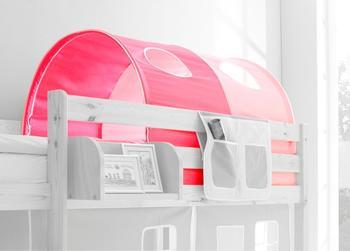 Ticaa 2-er Tunnel rosa pink