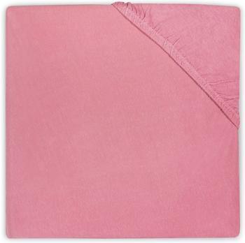 Jollein Spannlaken 60x120cm Jersey - raspberry