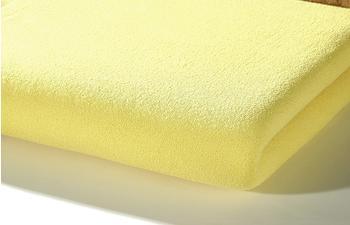 ALVI Spannbettlaken Nicki 40 x 90 gelb