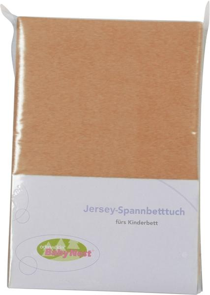 Odenwälder Spannbettlaken Jersey 70x140cm sand