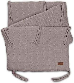 baby's only Bettnest Zopf uni taupe