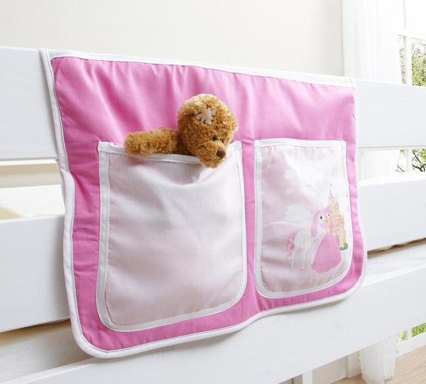 Ticaa Bett-Tasche Pferde pink