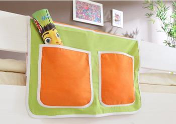 Ticaa Bett-Tasche grün/orange