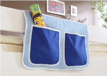 Ticaa Bett-Tasche hellblau/dunkelblau