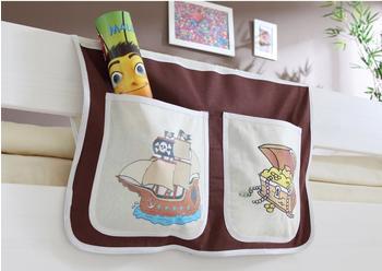 Ticaa Bett-Tasche Pirat braun/beige