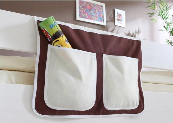 Ticaa Bett-Tasche braun/beige