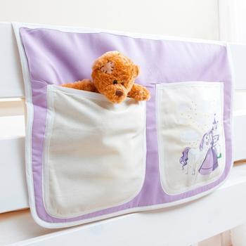 Ticaa Bett-Tasche Pferde lila