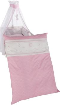 Roba Kinderbettgarnitur - Glücksengel rosa