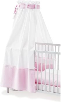 Pinolino Himmel für Kinderbetten Vichy-Karo rosa