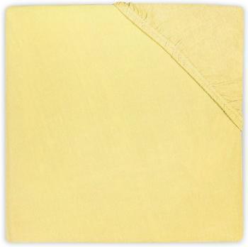 Jollein Spannlaken 60x120cm Jersey - gelb