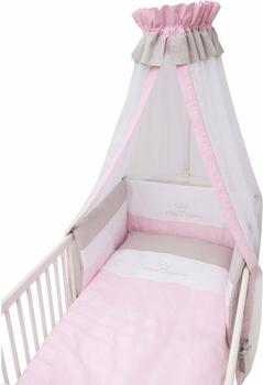 be-be-s-collection-bettset-3tlg-kleine-prinzessin-rosa