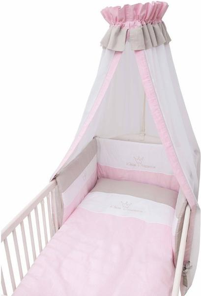 Be Be's Collection Bettset 3tlg. - Kleine Prinzessin rosa