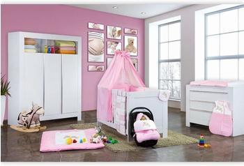 mixibaby-bettset-joy-13-teilig-100x135cm-rosa
