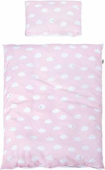 Roba Bettwäsche 100x135cm - Kleine Wolke rosa