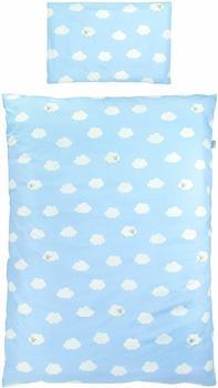 Roba Bettwäsche 100x135cm - Kleine Wolke blau
