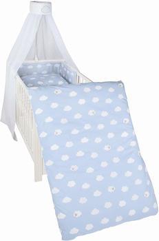 Roba Kinderbettgarnitur - Kleine Wolke blau