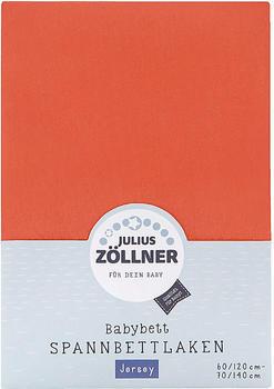Julius Zöllner Spannbetttuch Jersey 70x140cm Koralle
