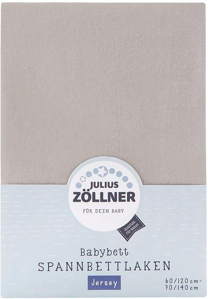 Julius Zöllner Spannbetttuch Jersey 70x140cm - taupe