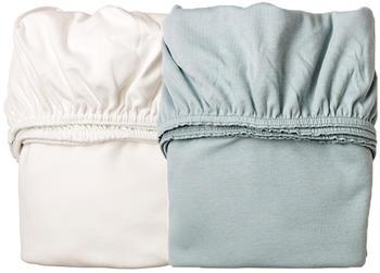 leander-laken-fuer-wiege-doppelpack-50x80cm-misty-blue-weiss