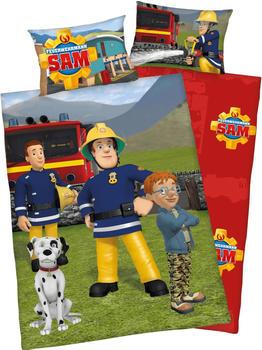 Herding Bettwäsche 100x135cm Biber - Feuerwehrmann Sam (2670016063)