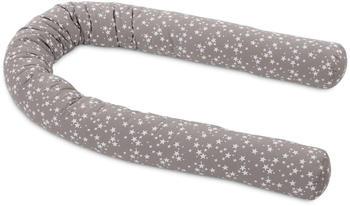 Babybay Nestchenschlange Piqué - Sterne taupe