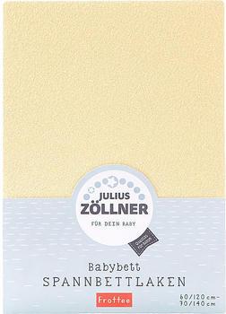 Julius Zöllner Spannbetttuch Jersey 70x140cm - banana