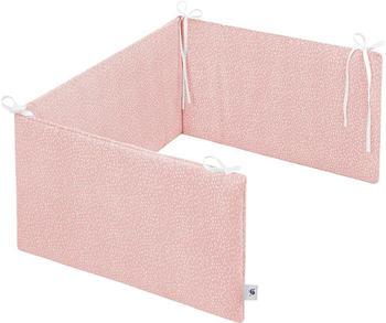 Julius Zöllner Jersey Baby Nestchen Comfort Soft - Tiny Squares Blush