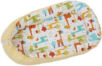polini-kids-babynestchen-giraffe-gelb