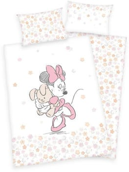 Herding Bettwäsche Minnie Mouse 100 x 135 cm flower