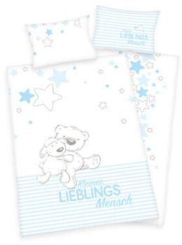 Baby Best Bettwäsche Kleiner Lieblingsmensch blau