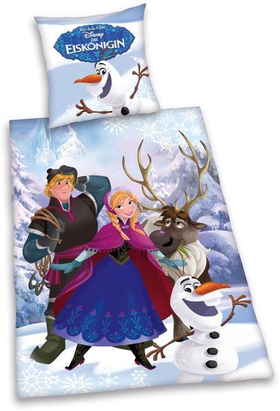 Herding Disney's Die Eiskönigin (Renforcé) 80x80+135x200cm