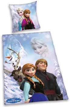Herding Disney's Die Eiskönigin 80x80+135x200cm lila