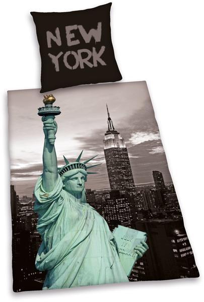 Herding New York Liberty (80 x 80 + 135 x 200 cm)