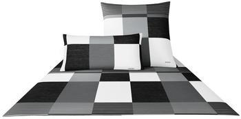 Joop! Plaza Squares 80x80+135x200cm black