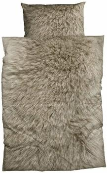CASATEX Animal Fur braun (135x200+80x80cm)