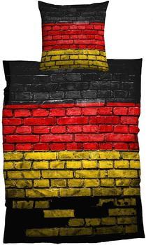 CASATEX German Flag bunt (135x200+80x80cm)