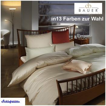 Curt Bauer Uni (155x220cm) weiß