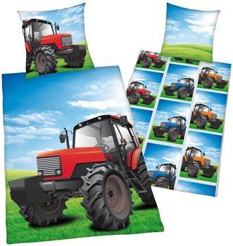 Herding Traktor 80x80+135x200cm (4451004050)