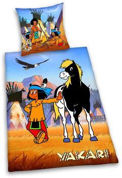 Herding Yakari (444517050) 80x80+135x200cm