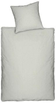 Dormisette Melange-Jersey Q345 silber (200x200+2x80x80cm)