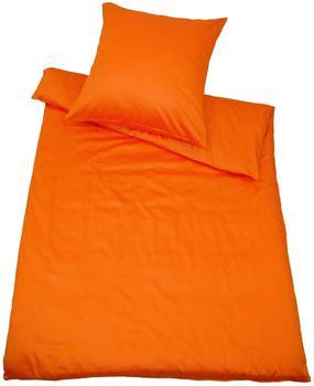 Kinzler Uni orange (155x220+80x80cm)