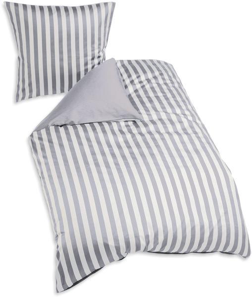 Marc O'Polo Classic Stripe 80x80+155x220cm grey