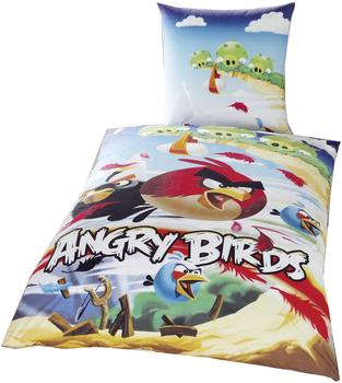 Global Labels Angry Birds (80 x 80 + 135 x 200 cm)