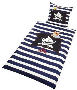 Bierbaum Capt'n Sharky Flagge (80 x 80 + 135 x 200 cm)