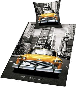Herding New York Taxi 80x80+135x200cm