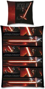 Global Labels Star Wars Bettwäsche Kylo Ren (135x200+80x80cm)