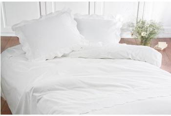 Damai Savoy weiß (200 x 200 cm)