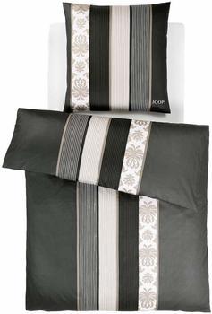 Joop! Ornament Stripes 2x80x80+240x220cm schwarz